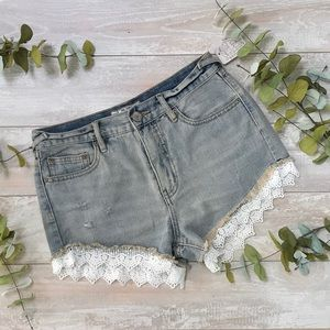 NWT Free People Denim Shorts